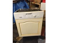 Miele semi integrated dishwasher
