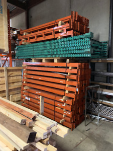 INDUSTRIAL RACKING / STORAGE SHELVES / TEAR DROP / RACK / SHELF