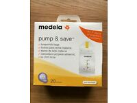 Medela Pump and Save 20 breastmilk bags