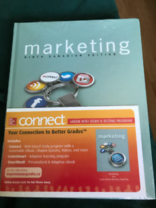 Marketing Textbook Ninth Edition with Econnect