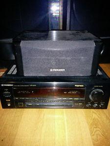 Pioneer sound system set with surround sound speakers