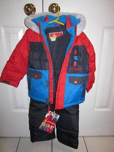 Snowsuit, Boys size 2T Krickets 2-piece, BNWT (1 avaialble)