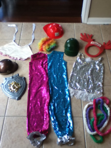 assorted costumes and accessories