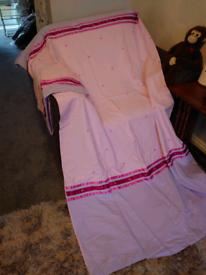 Pink Single Duvet and Pillowcase