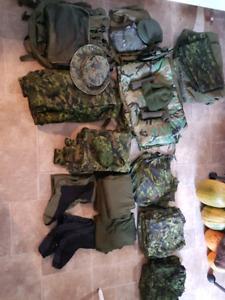 Hunting/Camping/Military kit and clothing