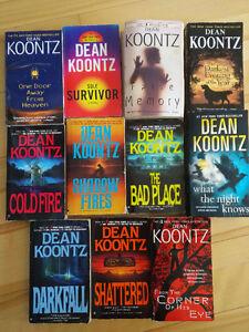 Dean Koontz Paperback Books