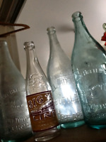 CLEAN OUT YOUR BASEMENT : Bottles wanted for Cash!!!!