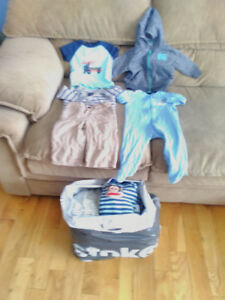 6 to 12 months baby boy winter/ spring clothes