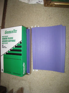 Brand New 1 Pack of Grand & Toy 25 Legal Hanging File Folders