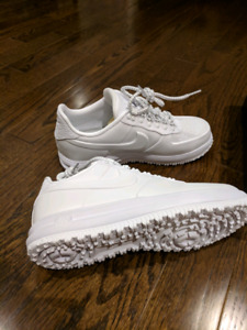 Nike Air force 1 duck boots winter white