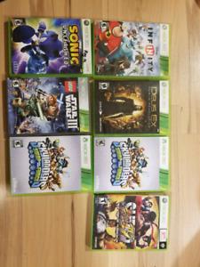 Xbox 360 250gb + jeux + 3 manettes