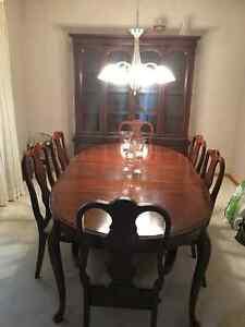 Beautiful cherrywood dining set