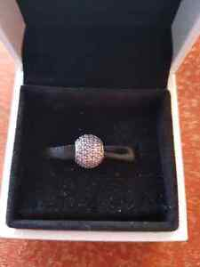 Authentic Pandora charm Pavè Lights Fancy Purple