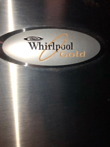 WHIRLPOOL GOLD REFRIGERATOR - Good Condition - Works perfectly.