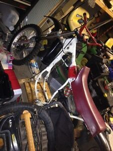 1987 yz 80 parts or project