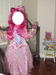 Robe de princesse (déguisement, costume) !!!!!