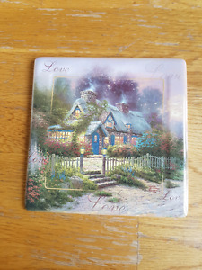 Bradford Exchange - Thomas Kinkade Plate Teacup Cottage