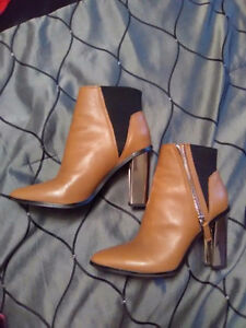 Brown leather boots Peterborough Peterborough Area image 1