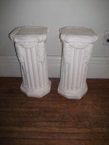Pair of Ceramic Pillars
