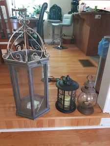 Cool candle holders
