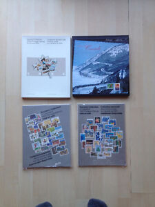 1980, 1981, 1984 Souvenir Collection Canadian stamps