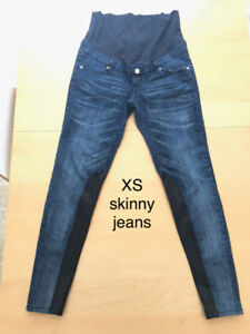 Maternity skinny jean and pants (size S)