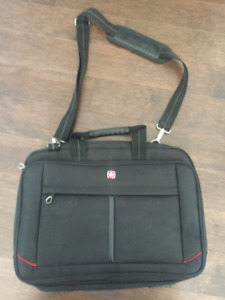 "Swiss Gear - 17.3"" Laptop Carry Bag and iPad Sleeve"