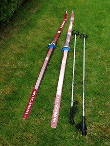 Mohair Cross Country Skis and Poles
