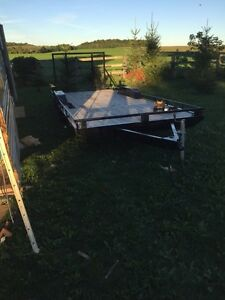 7ft x18 ft car trailer