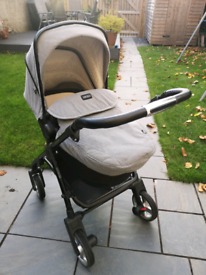 Silver Cross Wayfarer Ltd edition FULL pram and car seat set