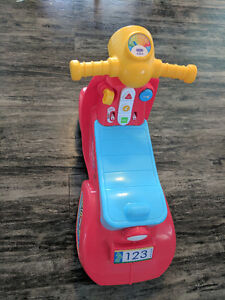 Fisher Price Laugh & Learn Smart Stages Puppy Scooter
