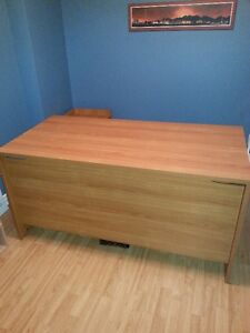 Office Desk Utility Desk with side drawers West Island Greater Montréal image 1