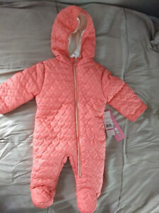 Snow suit 3-6 months - new with tags