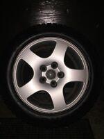 Kumho Winter Tires 205/55/r16 91T ~ 16 inch Audi original mags