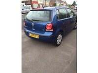 2006 VOLKSWAGEN POLO E 1.2 5DR 12 MONTHS M.O.T! (£1,395 BARGAIN)P/X WELCOME.