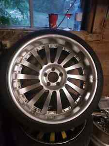 """20"""" mercedes wheels and tires"""