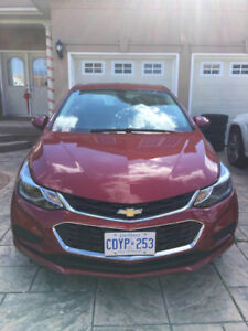 2018 Chevrolet Cruze lease transfer, only drive 9200 km,