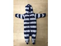 Baby gap warm pram suit