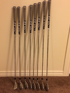 Left Handed Taylormade RSi2 Irons (4-A wedge)
