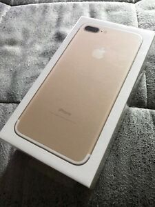 iPhone 7 Plus  - Gold 128GB - Brand new and still sealed!!