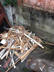 Free timber firewood