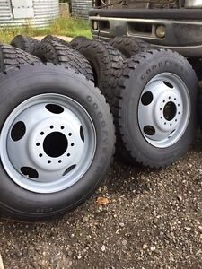 19.5 inch 10 bolt Tires and rims