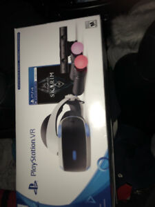 PS4 Virtual Reality with game
