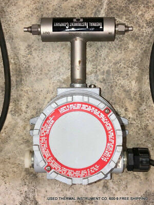 Used Thermal Instrument Co. 600-9 Mass Flow Meter Free Shipping