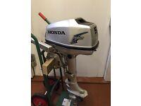Honda 5HP outboard - long shaft