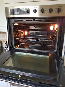 GE WALL OVEN 30 inches double oven