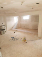 Drywall Taping and Interior Finishing