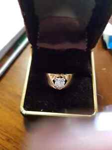 High quality 18k gold plated ring Windsor Region Ontario image 4