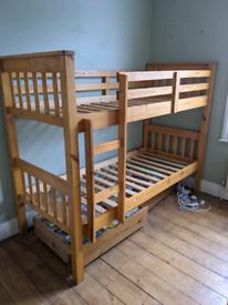 Children's Pine Bunk Bed
