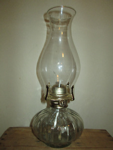 3 Available. Vintage Oil Lamps...UNUSED.